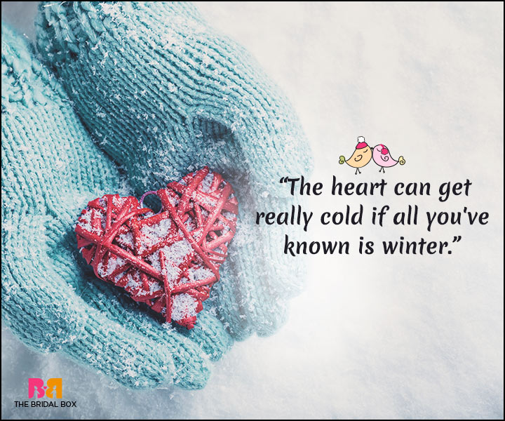 Winter Love Quotes: 15 Quotes That Best Express A Lover's ...
