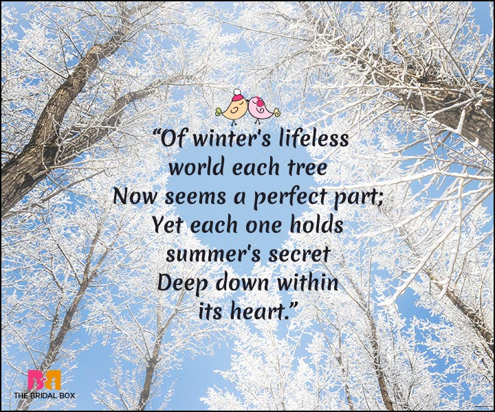 Winter Love Quotes: 15 Quotes That Best Express A Lovers