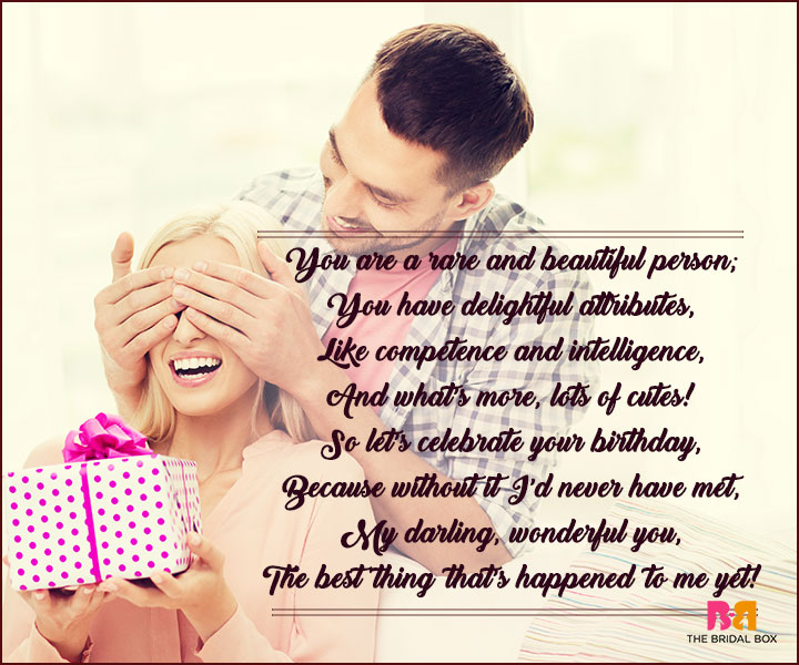 Birthday Love Poems - The Best Thing