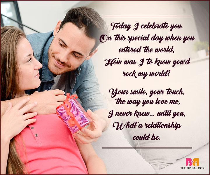Birthday Love Poems - Your Smile