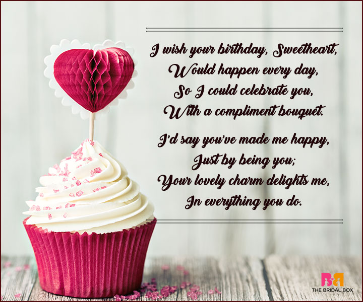 Love Quotes For Birthday Cake