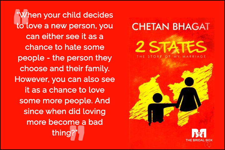 Chetan Bhagat Quotes On Love - A Bad Thing
