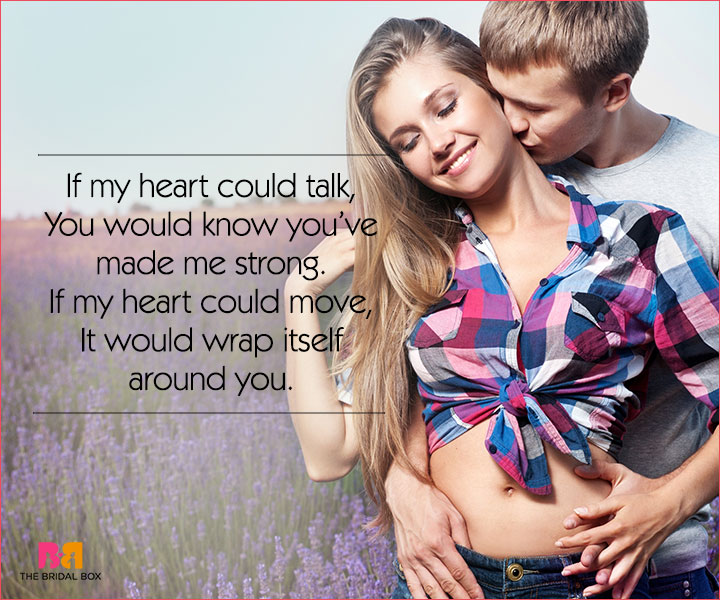 Cute Love Poems For Her - If My Heart Could Talk