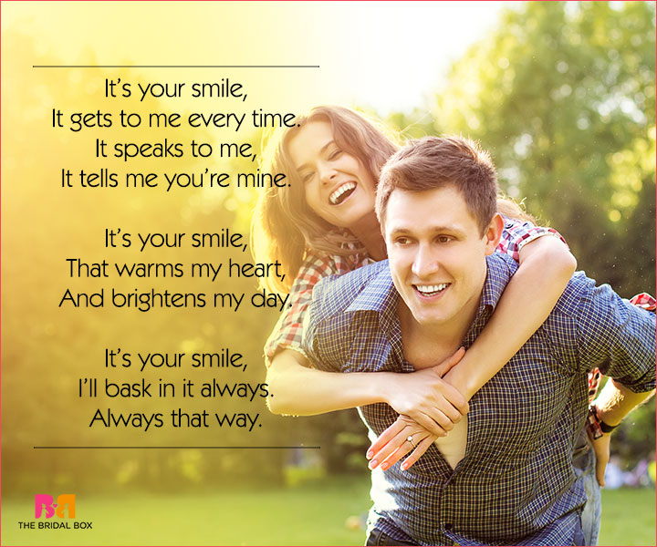 Cute Love Poems For Her - It's Your Smile