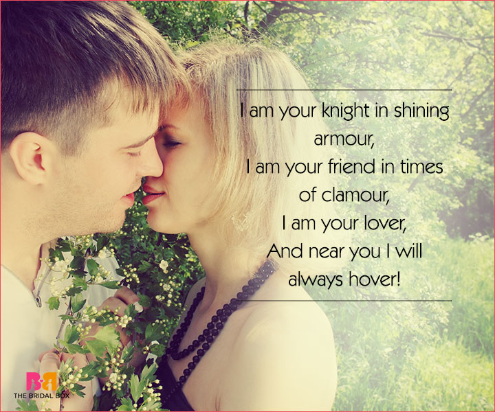 Cute Love Poems For Her - I Am Your Knight