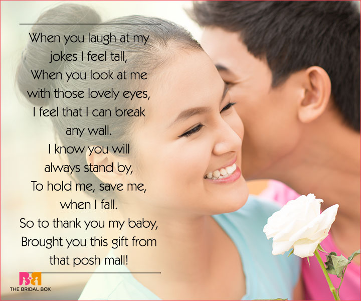 Cute Love Poems For Her - When You Laugh