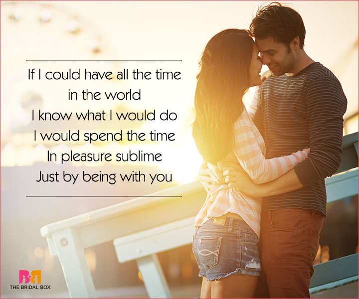 Cute Love Poems For Her - All The Time