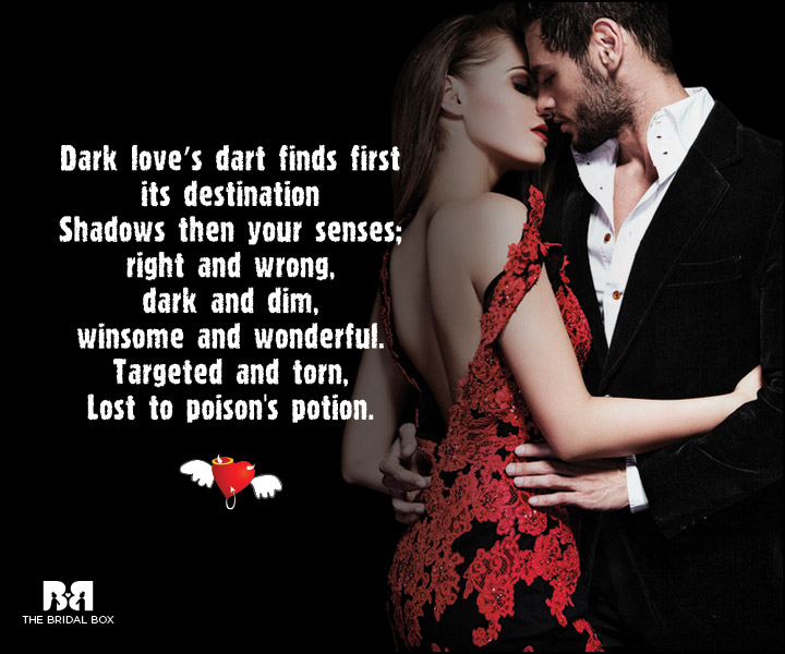 Dark Love Poems: 15 Compelling Reasons To Explore The Dark Side