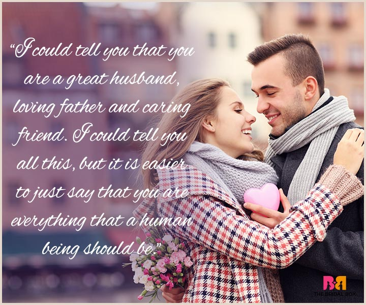 I Love You Messages For Husband - You Are An Awesome Human Being