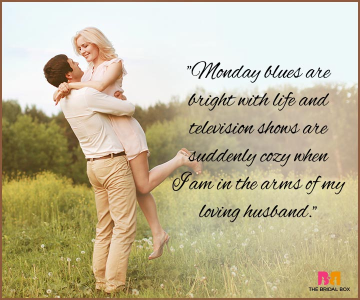 I Love You Messages For Husband - In Your Arms