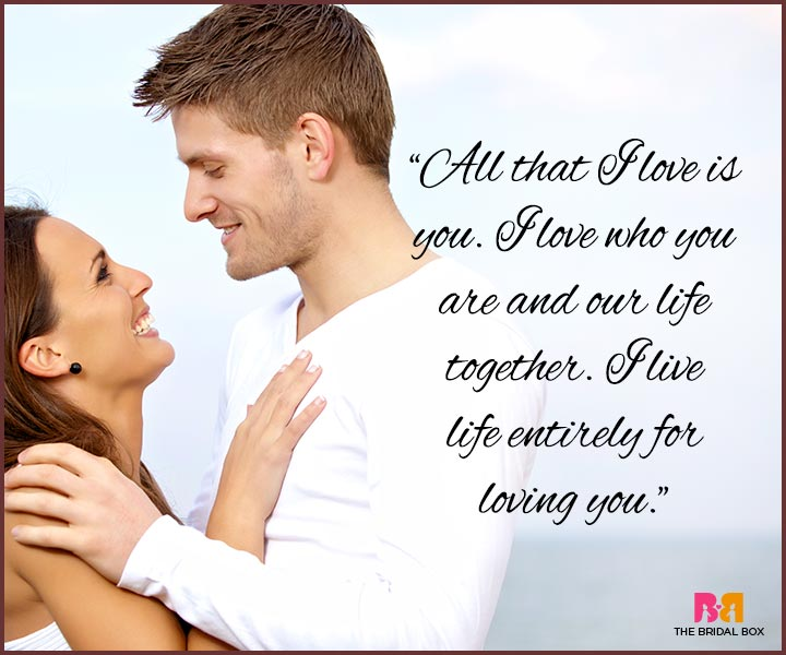 I Love You Messages For Husband - All That I Love