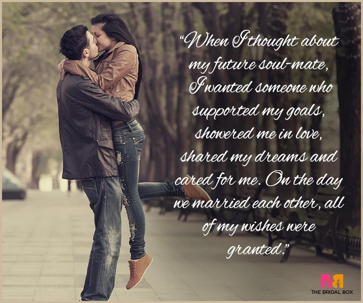 I Love You Messages For Husband - The Day We Got Married