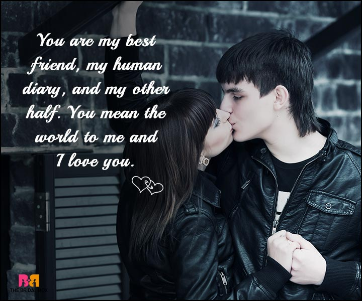 Love SMS - My Human Diary