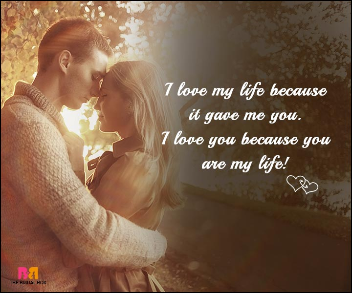 Love SMS - I Love You And My Life