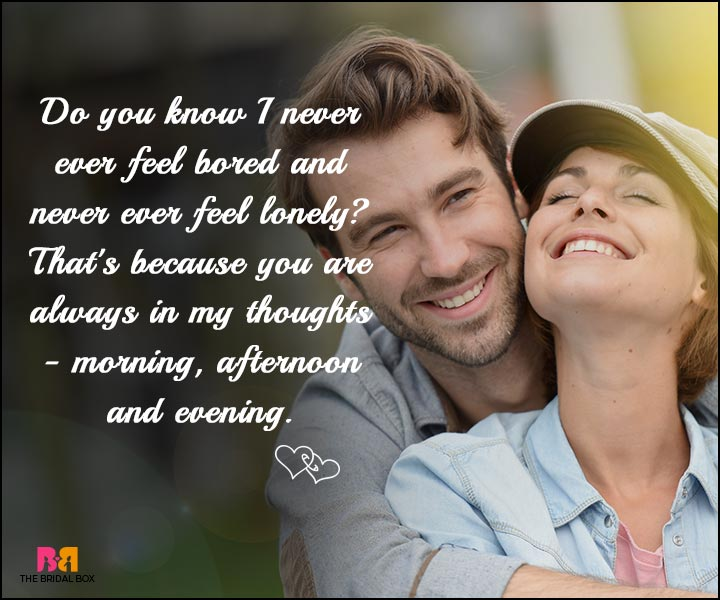 Love SMS - In My Thoughts Always