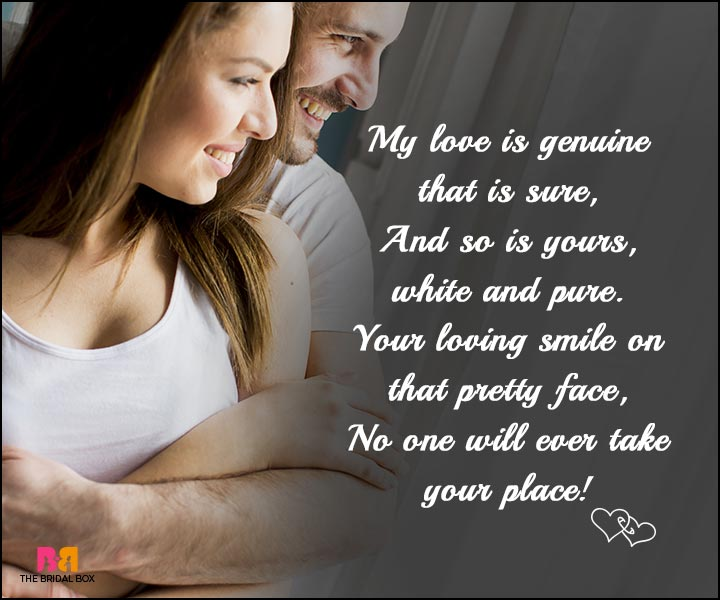 Love SMS - My Love Is Genuine