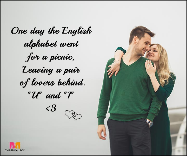 Love SMS - The English Alphabet