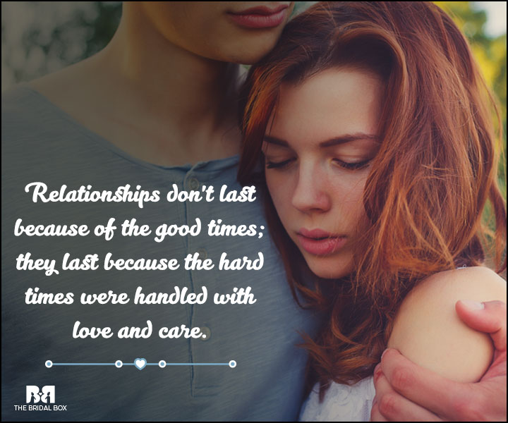 Love And Care Quotes - Relationships