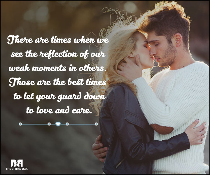 Love And Care Quotes - Reflections