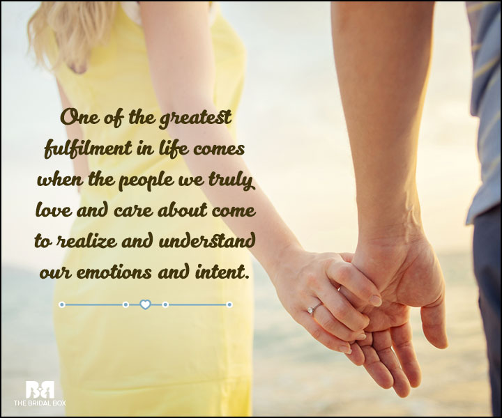 Love And Care Quotes - The Greatest Fulfillment