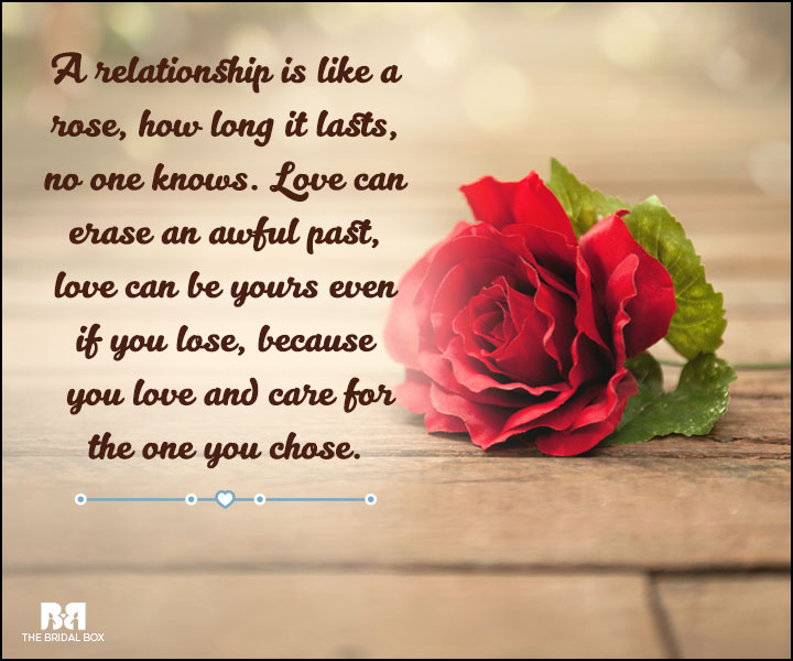 Love And Care Quotes - Like A Rose