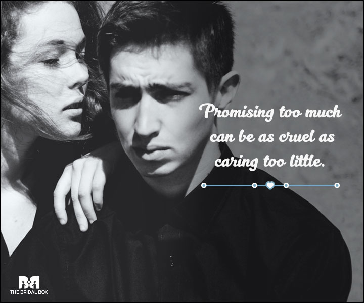 Love And Care Quotes - Promises