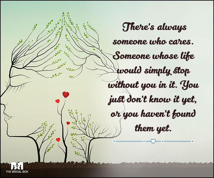 Love And Care Quotes - Someone