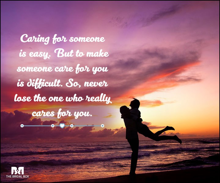 Love And Care Quotes - Difficult