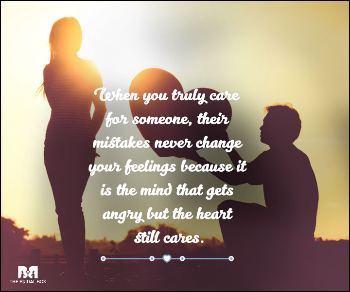 Love And Care Quotes - The Heart Still Cares