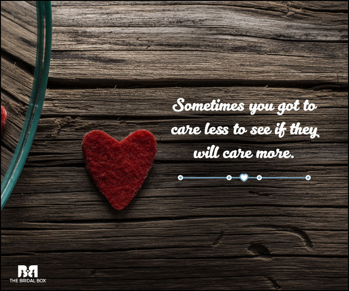 Love And Care Quotes - Just To See