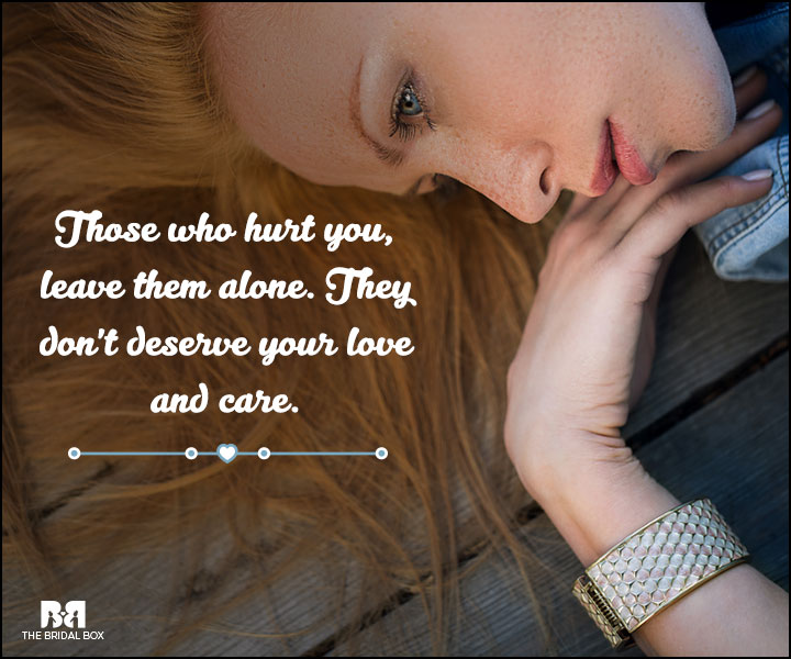 Love And Care Quotes - They Don't