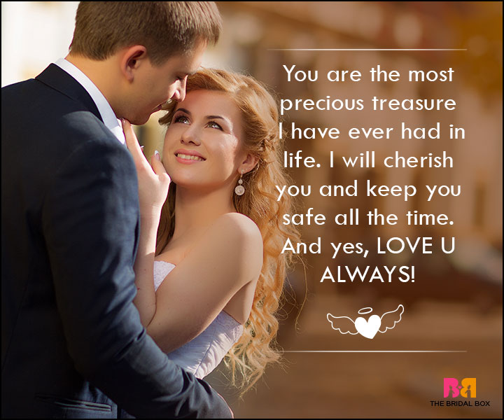 Love SMS For Wife - The Most Precious Treasure