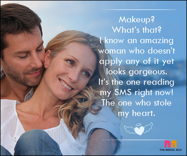 Love SMS For Wife - MakeUp