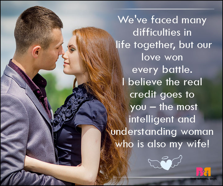 Love SMS For Wife - We've Faced Many Difficulties