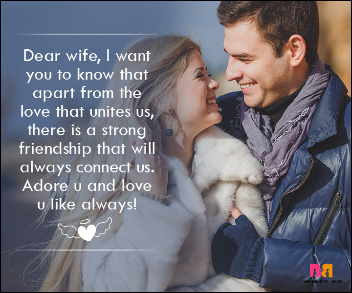 Love SMS For Wife - Dear Wife