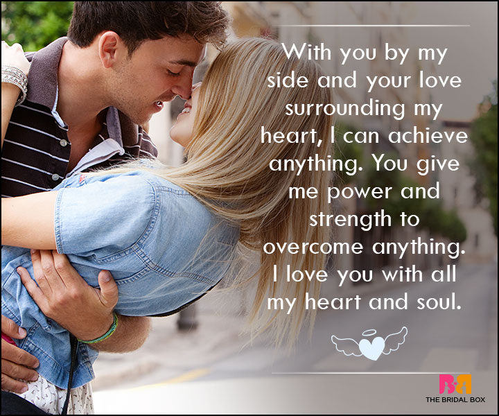 Love SMS For Wife - With You By My Side