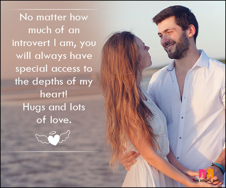 Love SMS For Wife - You Will Always Have Special Access