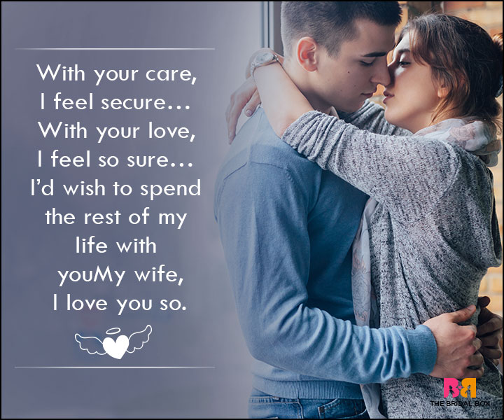 Love SMS For Wife - With Your Care