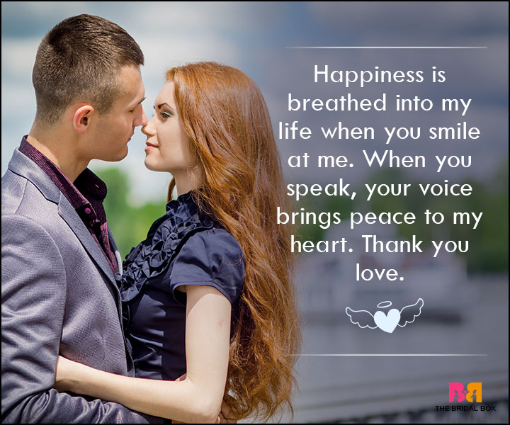 Love SMS For Wife - Happiness