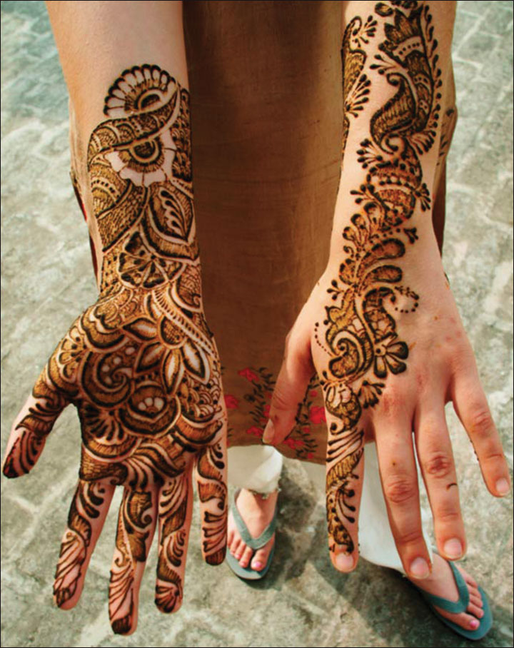 Arabic Mehndi Design For Men: 10 Beautiful Marathi Mehndi Designs In Trend