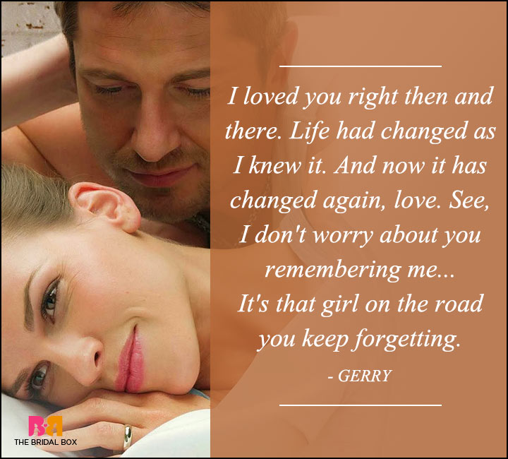 P.S. I Love You Quotes - I Don't Worry
