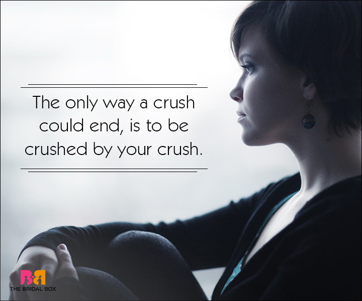 Sad Love SMS Messages - A Crush