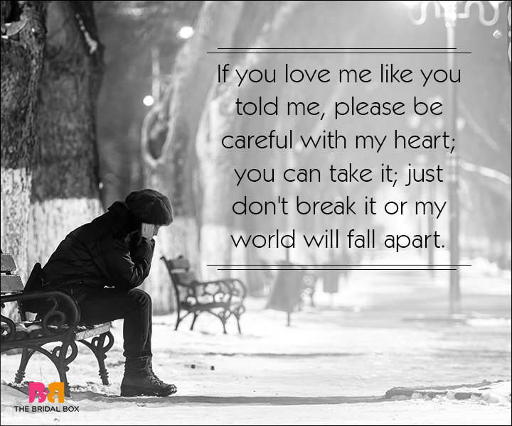 Sad Quotes About Love: For The Ones Nursing A Broken Heart