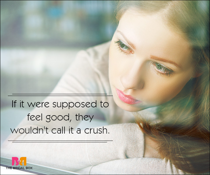 Sad Love SMS Messages - They Wouldn't Call It A Crush