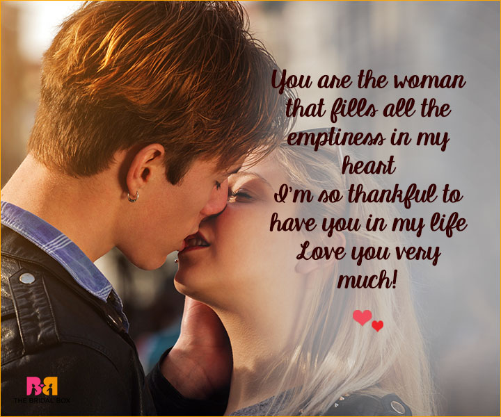 Romantic Love SMS For Girlfriend - You Are The Woman