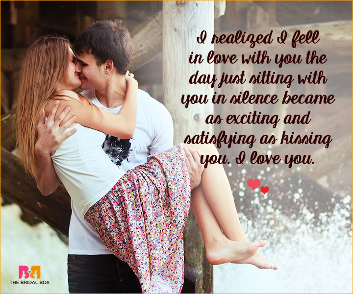 Romantic Love SMS For Girlfriend - I Fell In Love