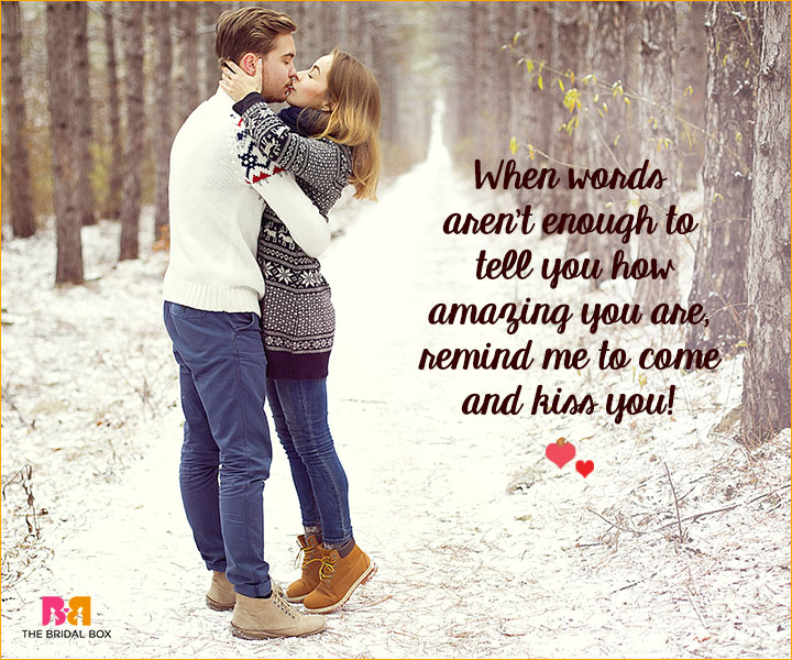 Romantic Love SMS For Girlfriend - Words Aren't Enough