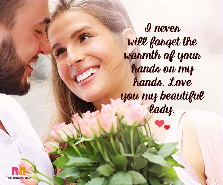 Romantic Love SMS For Girlfriend - The Warmth