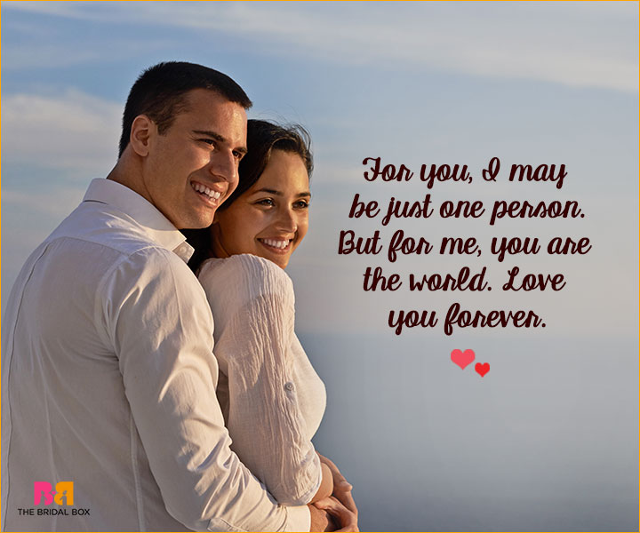 Romantic Love SMS For Girlfriend - For You