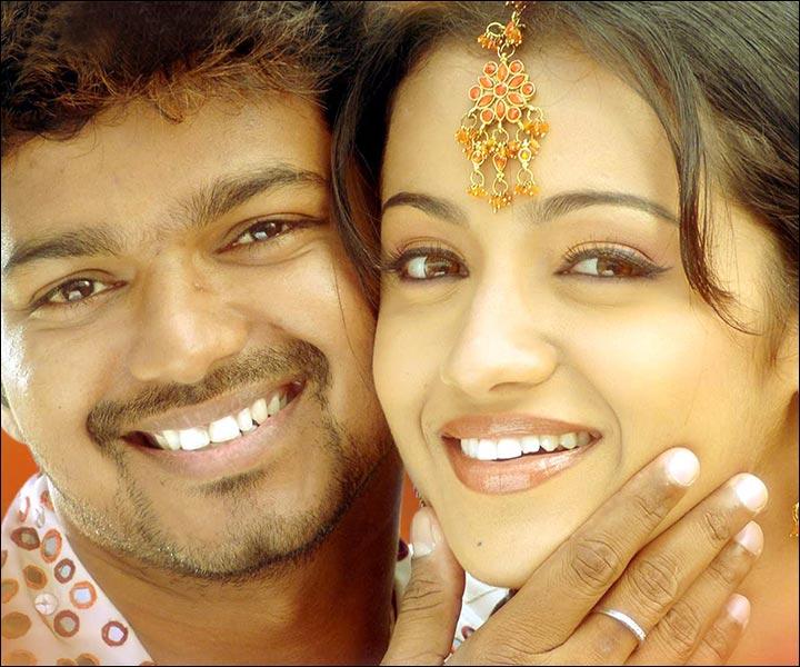 Trisha Krishnan Marriage - Trisha Krishnan And Vijay In Thirupaachi